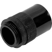 25mm Conduit, Boxes & Fittings Black and White