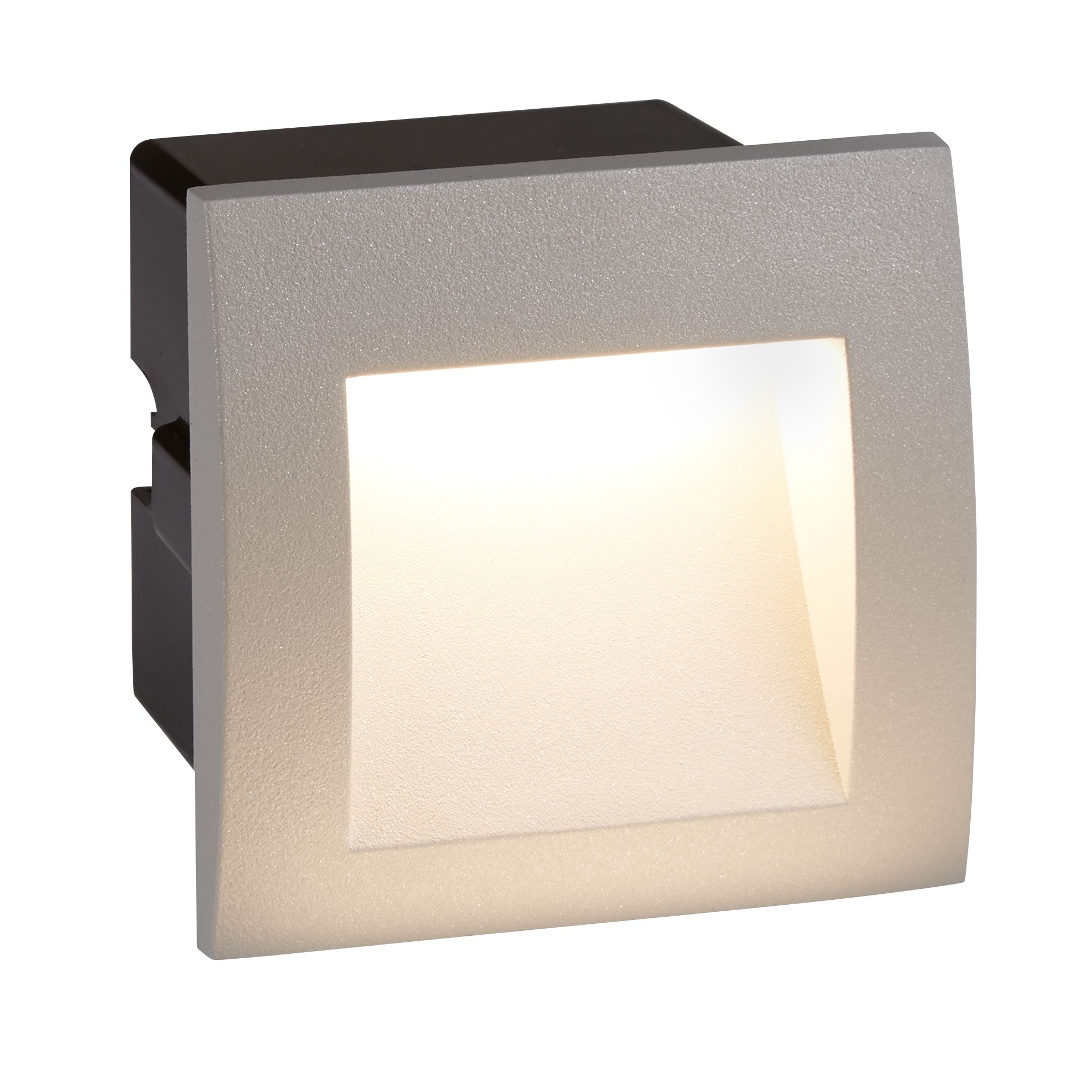 Searchlight 0661GY Ankle W/Lgt Sq 1W