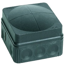 Wiska 10061999 Jcn/Box 108/5 Empty Blk