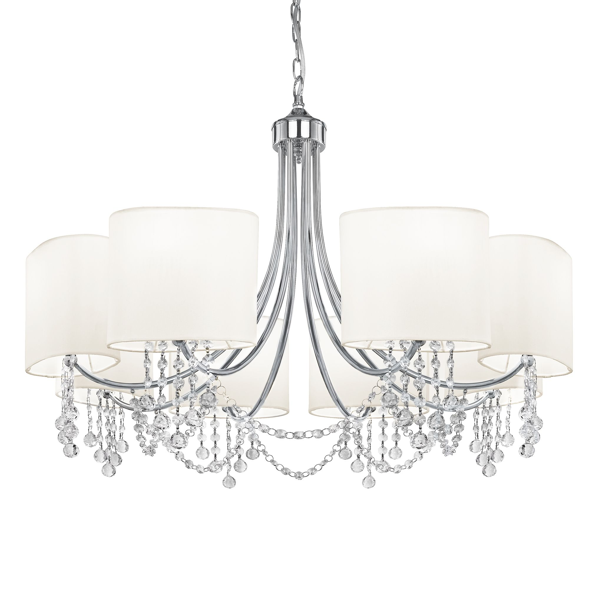 Searchlight 1058-8CC Chandelier 8x60W