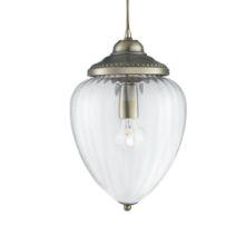 Searchlight 1091AB Lantern Clr Glass