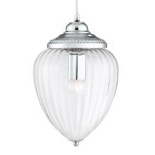 Searchlight 1091CC Lantern Clr Glass Ch