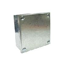 Galvanised Metal Adaptable Box (12x12x3)