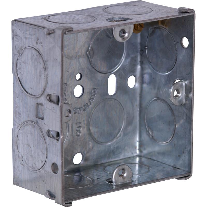 1G 35mm Metal Back Box