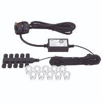 Saxby Ikon round 30mm kit IP67 0.45W daylight white