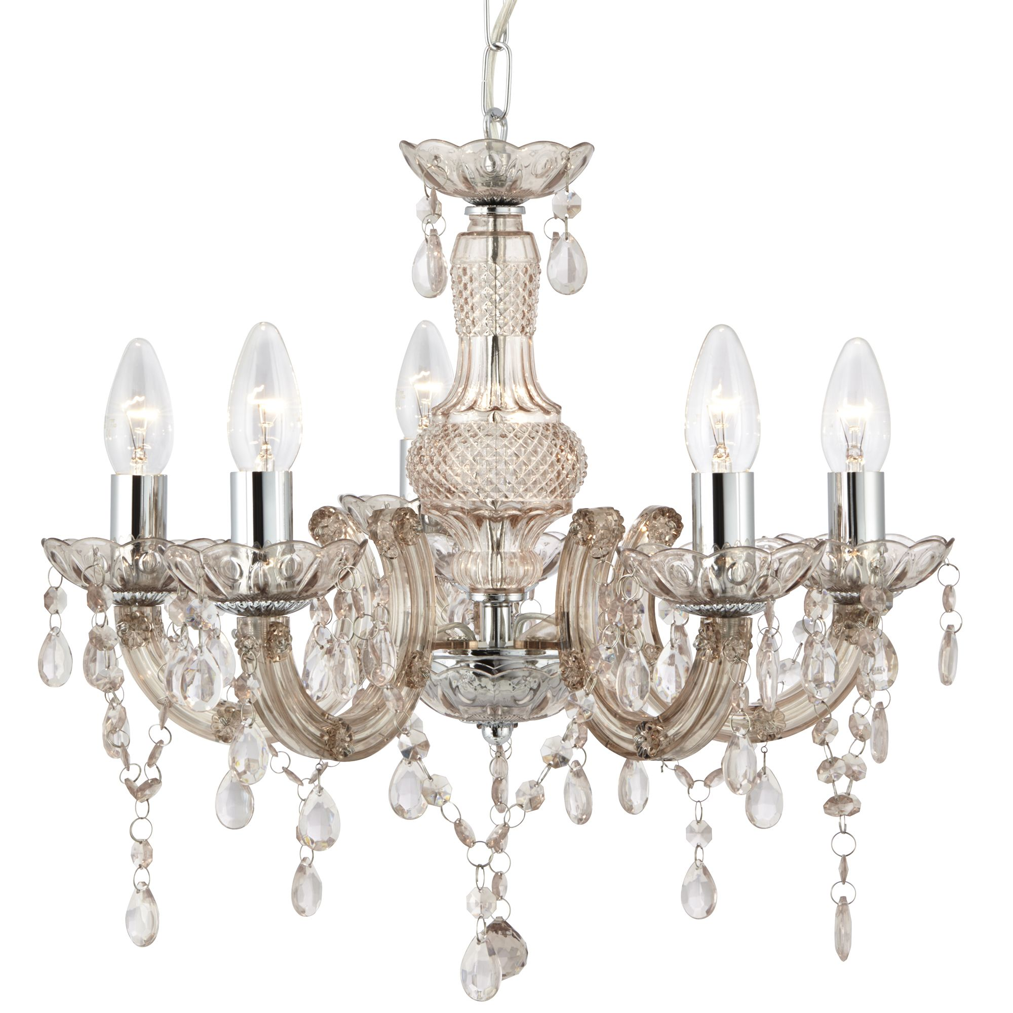 Searchlight 1455-5MI Chandelier 5x60W
