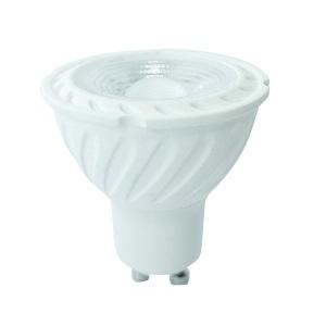 V-TAC LED Spotlight SAMSUNG CHIP - GU10 6.5W Ripple Plastic 110Deg 3000K