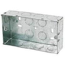 2G 25mm Metal Back Box