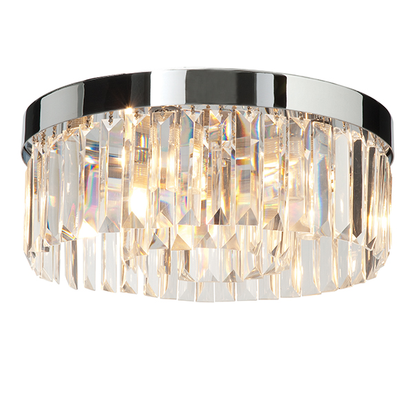 Endon 35612 Crystal Clg Light G9 5x28W