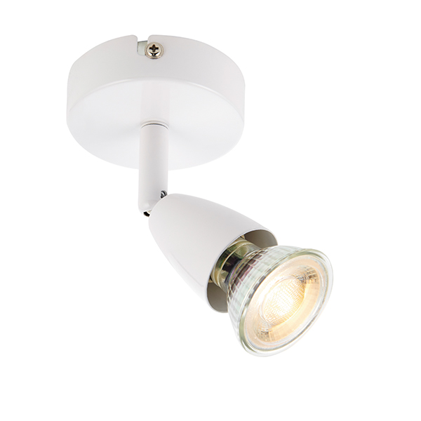 Endon 43281 Single Spotlight & GU10 50W
