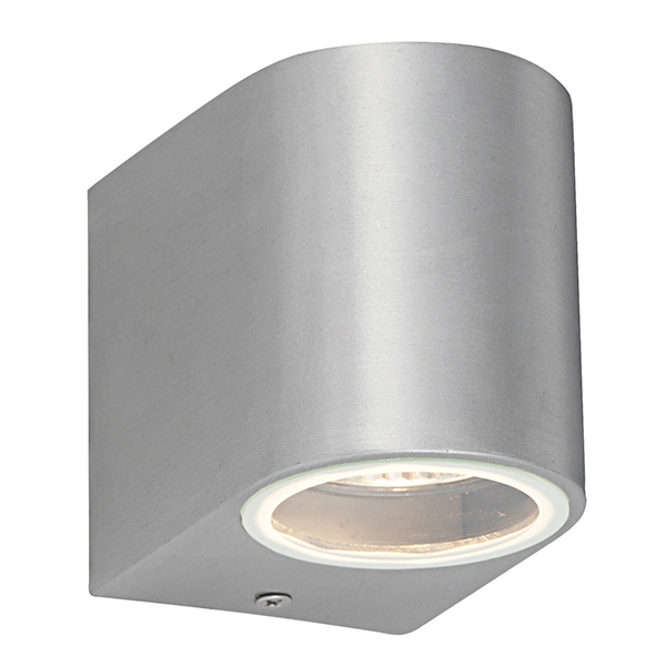Saxby 43655 Wall Light & GU10 35W Brshd