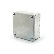 Galvanised Metal Adaptable Box (4x4x2)