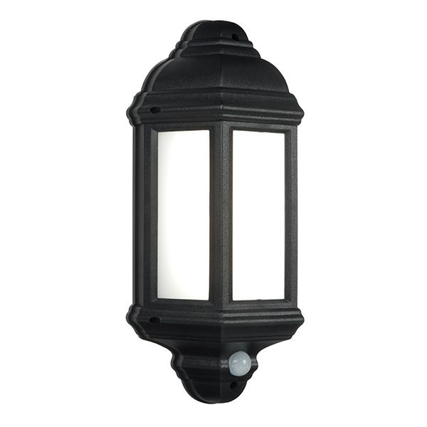 Endon 54553 Halbury Lantern LED 7W Black