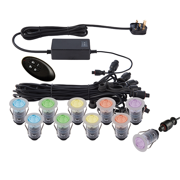 Saxby IkonPRO 25mm kit IP67 0.75W SW rgb