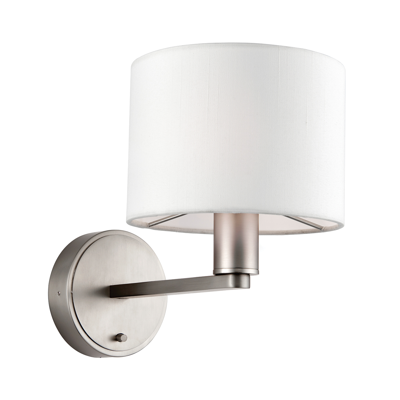 Endon 61608 Daley Wall Light 40W MN/Whi