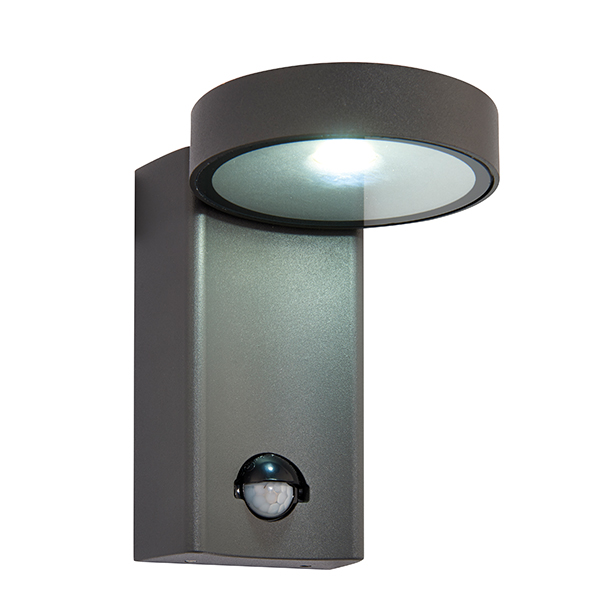 Saxby 67696 Wall Light 4000K LED PIR 10W