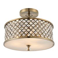 Endon 70558 Hudson Ceiling Light 3x60W