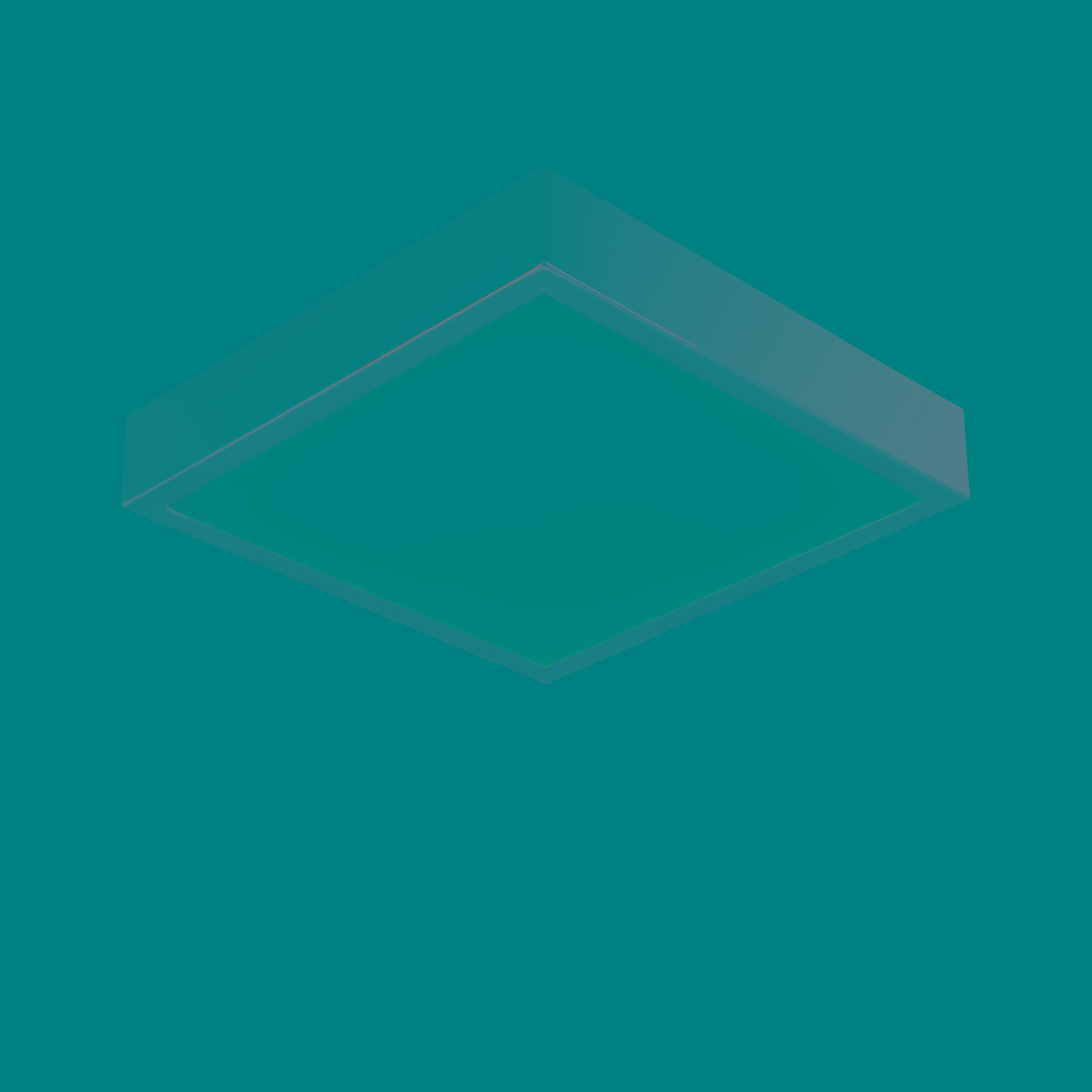 Endon 72457 Cubita Ceiling Light LED 15W