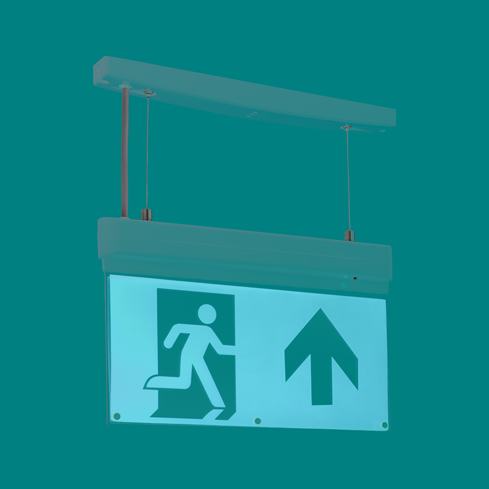 Saxby 72644 Exit Sign 3hrM LED 4-In-1 1W