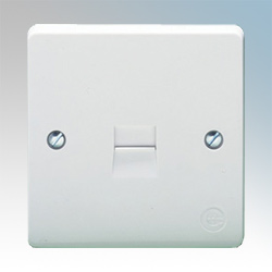 Crabtree 1G Secondary Telephone Socket Outlet