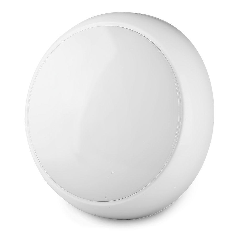 V-TAC 802 - VT-15 15W FULL ROUND DOME LIGHT SAMSUNG CHIP 6400K IP65