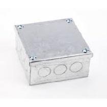 Galvanised Metal Adaptable Box (9x9x2)
