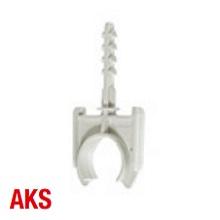 Schnabl 30740 AKS 16 Clamp 16mm L/Gry