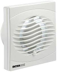 BVF100T Bathroom/Shower/Toilet Timer Extractor Fan 100mm White Finish
