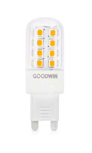 Goodwin C Series 3.5W 350lm 3000K Non-dimmable G9 LED Capsule