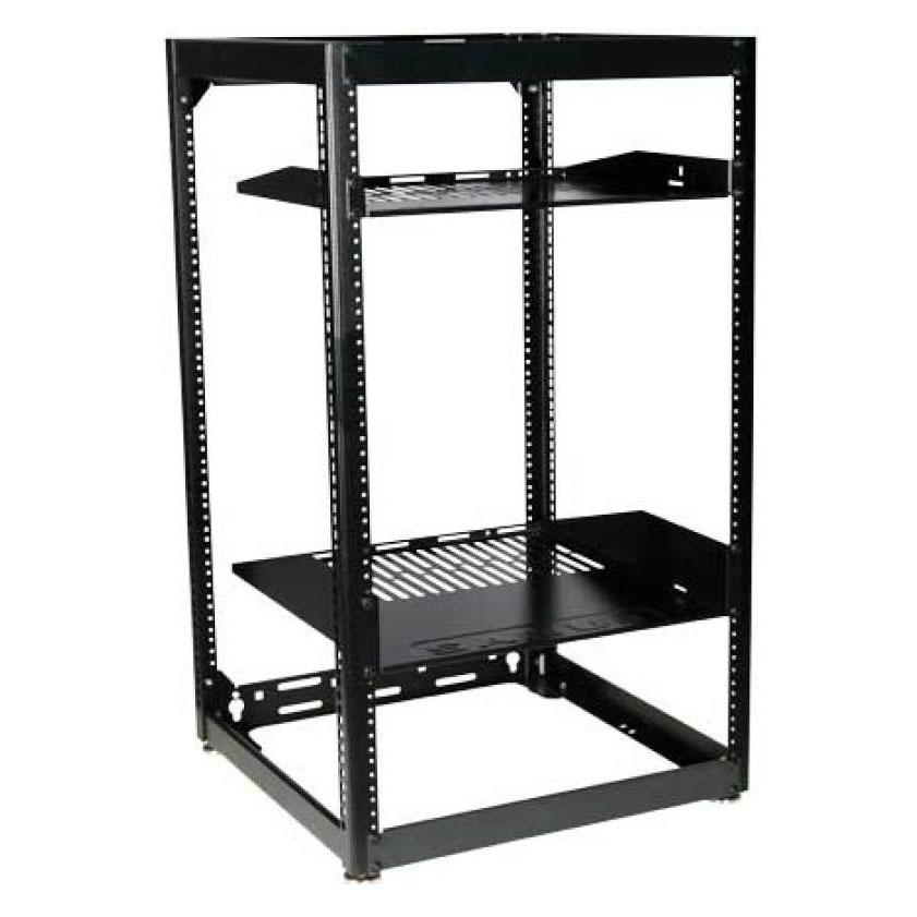 SANUS 35 Tall AV Rack 20U Stackable Skeleton Rack