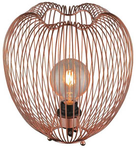 Petal Table Lamp in Copper 60W E27 30cm(w)