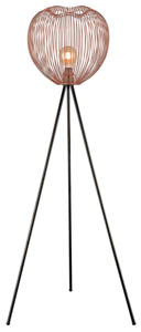 Petal Floor Lamp in Copper 60W E27 40cm(w)