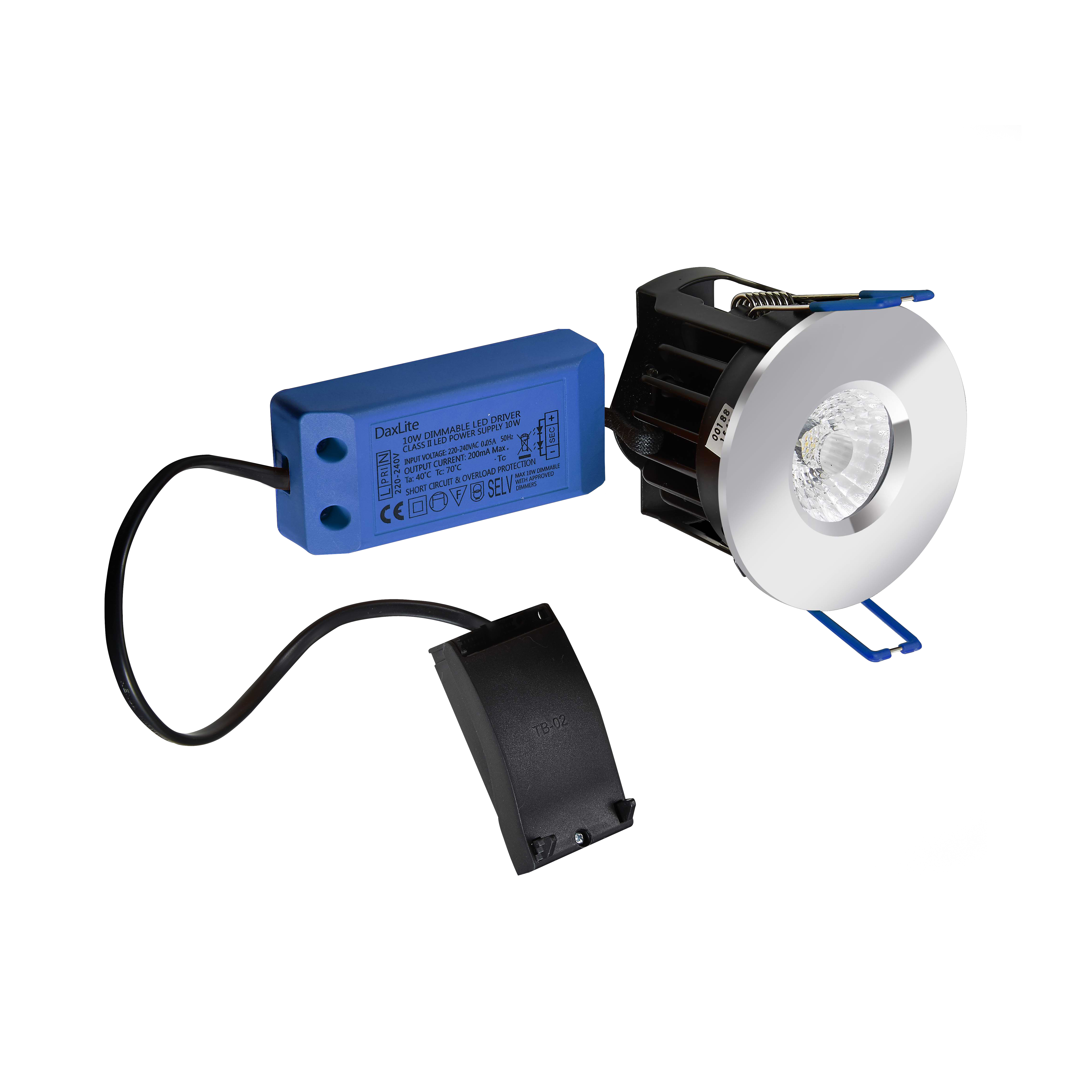 Dax DXBD310 LED Downlight 3000K 10W Whi
