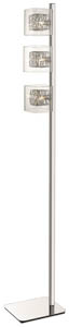 Chloe Floor Lamp in Chrome 22cm(w)