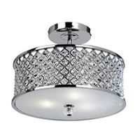 Endon HUDSON-3CH Ceiling Light ES 3x50W