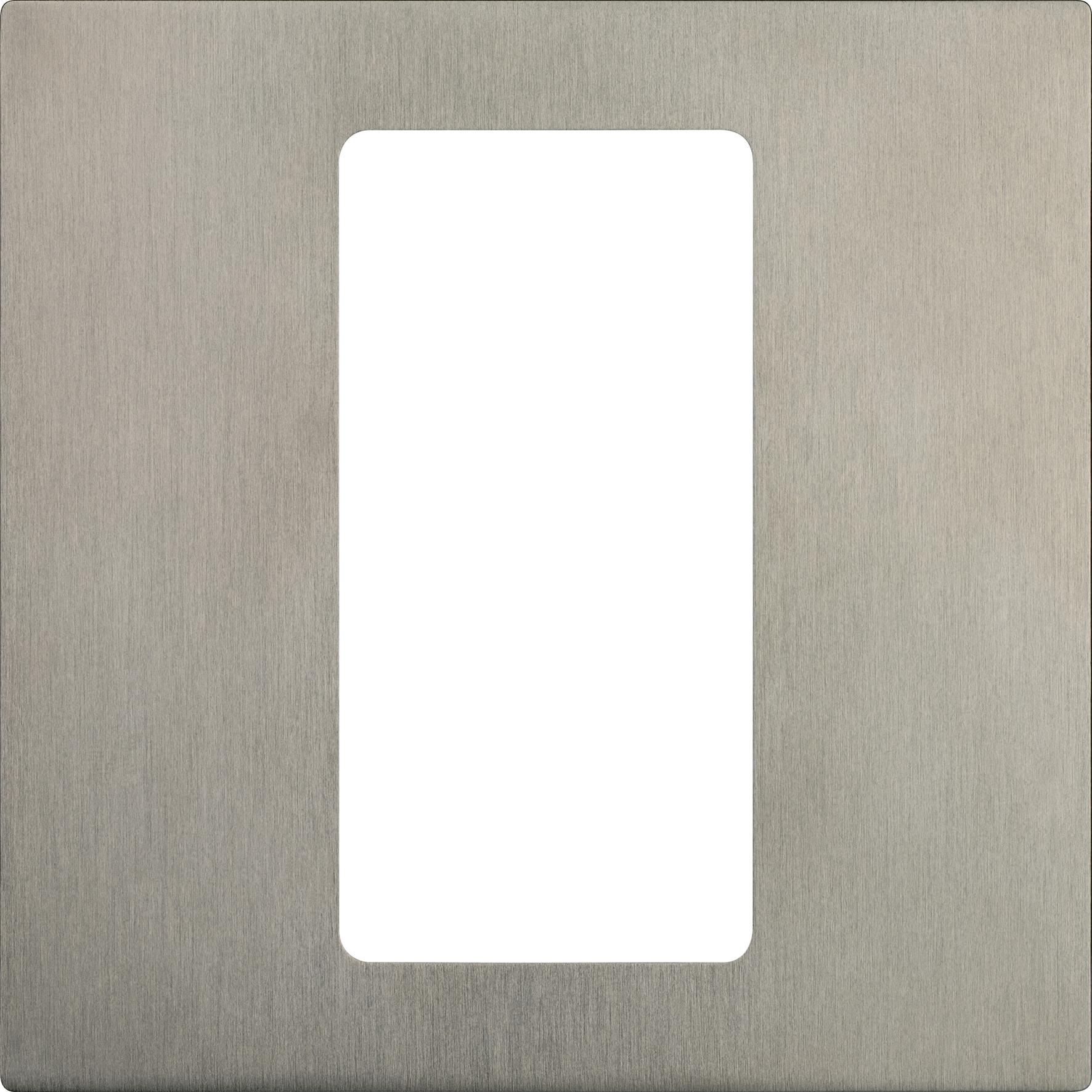 Lutron Pico 1-Column Faceplate (Satin Nickel)