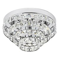 Endon MOTOWN-4CH Ceiling Light G9 4x40W