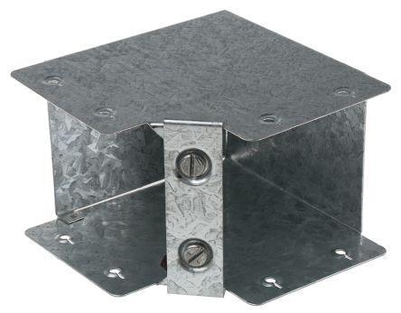 "Metal Trunking 2"" x 2"" (50mm) Internal Bend"