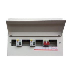 Wylex NMRS10SSLMHI Consumer Unit 10Way