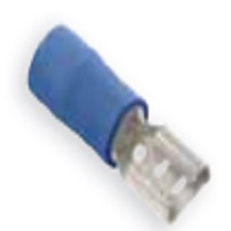 Pre-Insulated Terminals - Blue  Female Push- On Fully Insulated - 4.8 x 0.5mm