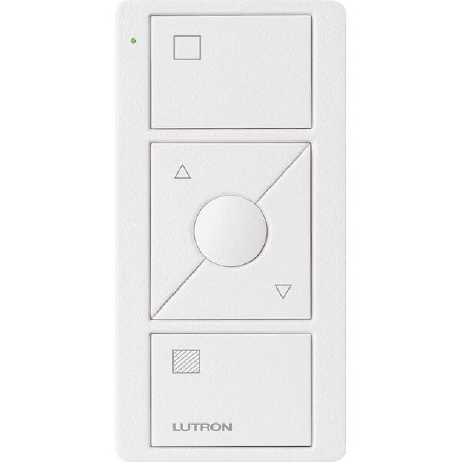 Lutron Pico RF 3 Button Control with Raise/Lower (Black) (Shades Icons Model)