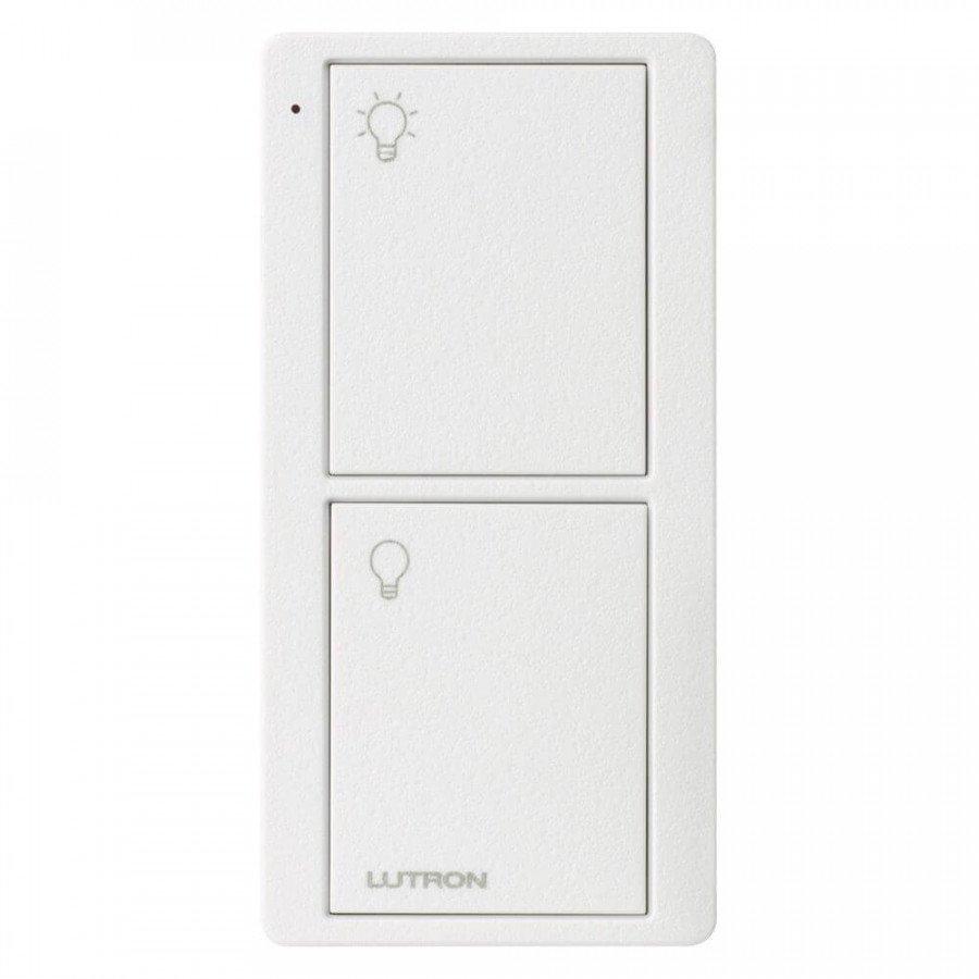 Lutron Pico RF 2 Button Control (Artic White) (Lights Model)