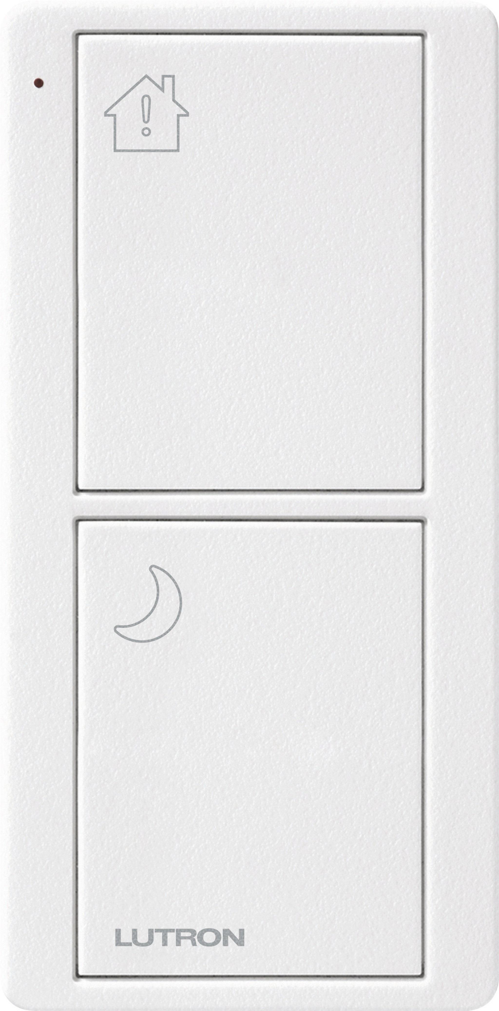 Lutron Pico RF 2 Button Control (Artic White) (Bedside Model)