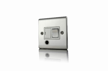 Premspec 13a Switched FCUF/O Satin Steel