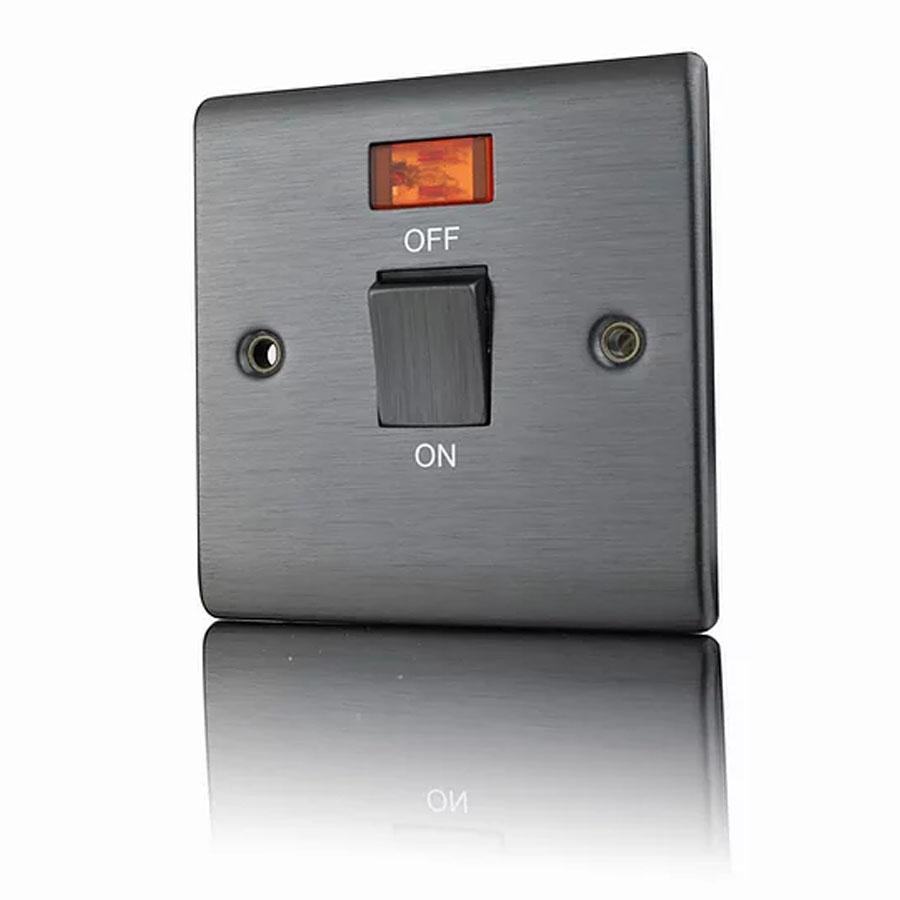 Premspec 20DP Switch + NEON Satin Nickel