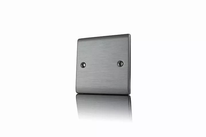 Premspec 1G Blank Plate Satin Nickel