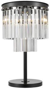 Mayfair 3 Light Crystal Table Lamp 3x40W E14 80cm(w)