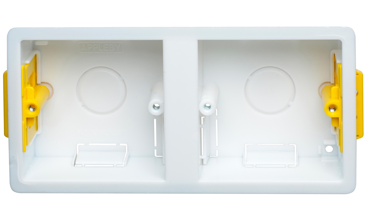 Appleby SB637 Dual Dry Lining Box 35mm