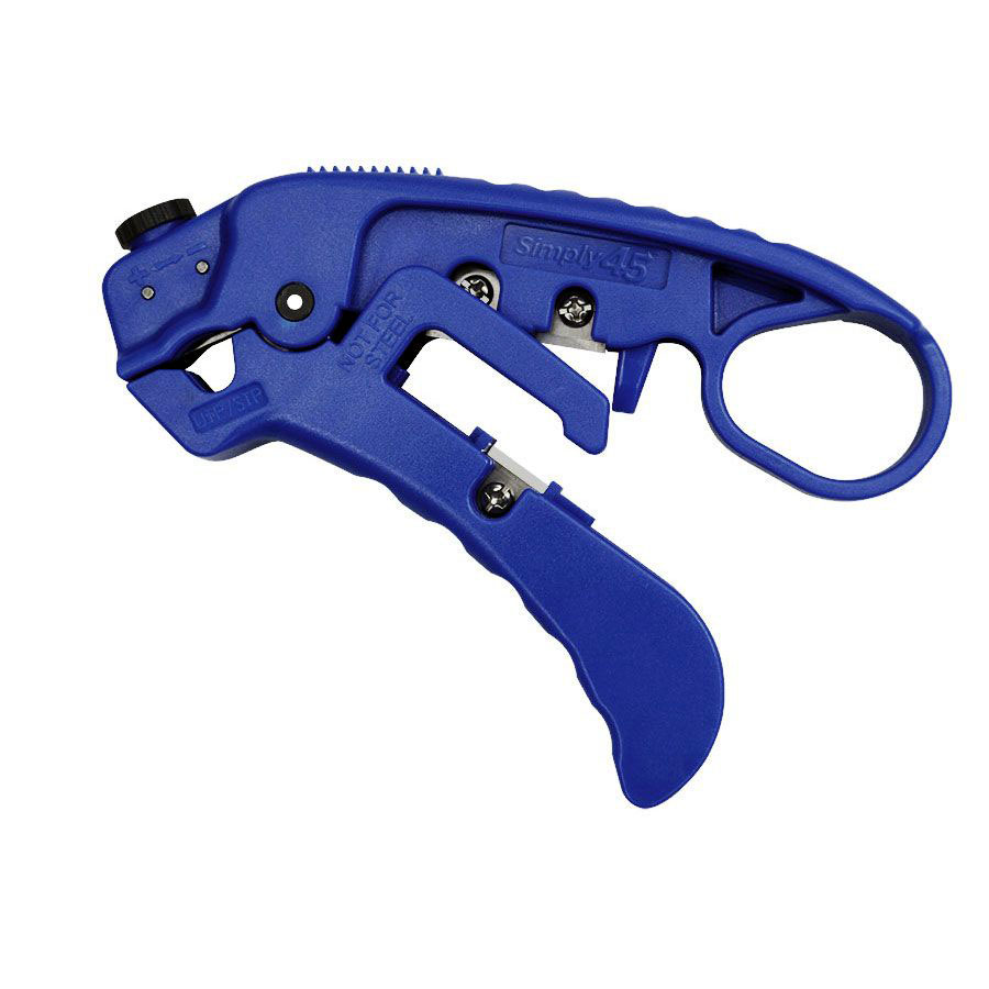 Simply45 Professional Adjustable Category Cable Stripper & Cutter