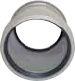 Soil Ring Double Socket Slip Coupler 110mm - Light Grey
